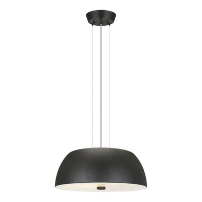 Wellfleet 2-Light Pendant Finish: Black