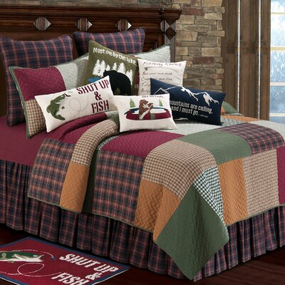 Gibson Lake Quilt Size: Twin