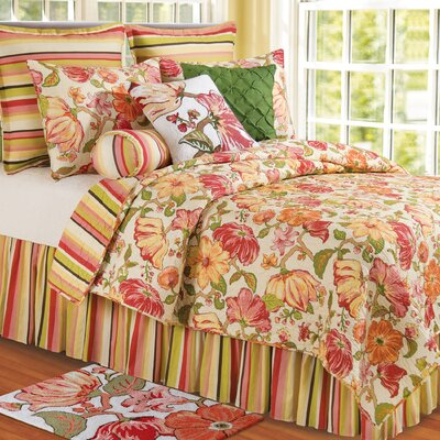 Alessandra Cotton Quilt Size: Full/Queen