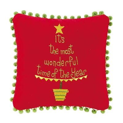 Its the Most Embroidered Throw Pillow (Set of 2)