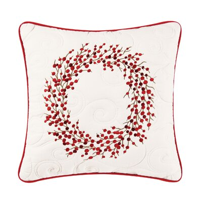 Hale Embroidered Throw Pillow