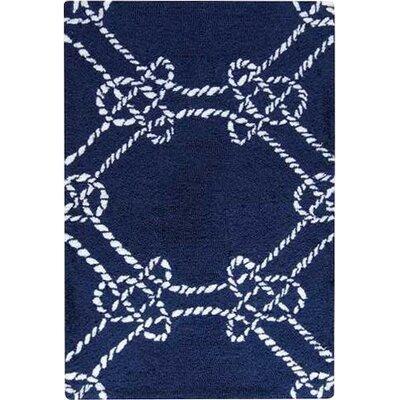 Hargrove Blue Area Rug Rug Size: 2 x 3