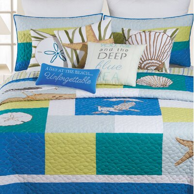 Oasis Cotton Quilt Size: Full/Queen