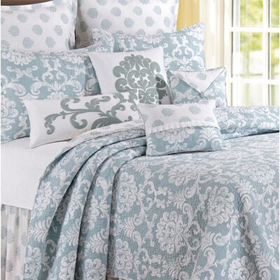 Providence Cotton Quilt Size: Full / Queen, Color: Chambray