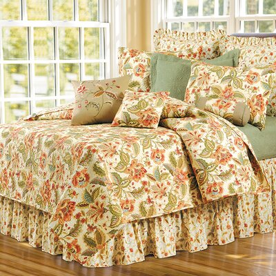 Rosalie Panel Bed Skirt Size: Queen