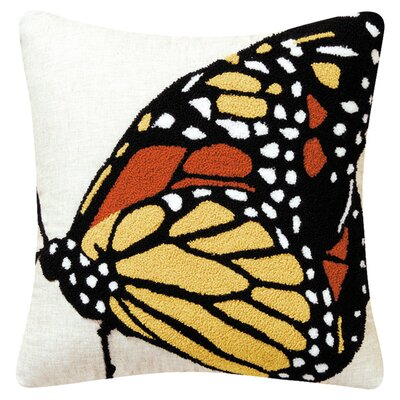 Monarch 100% Cotton Throw Pillow (Set of 2)