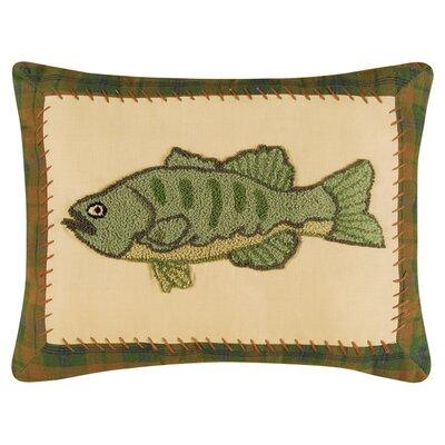 Fish 100% Cotton Lumbar pillow (Set of 2)
