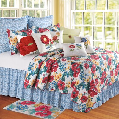 Madeline Bed Skirt Size: Queen
