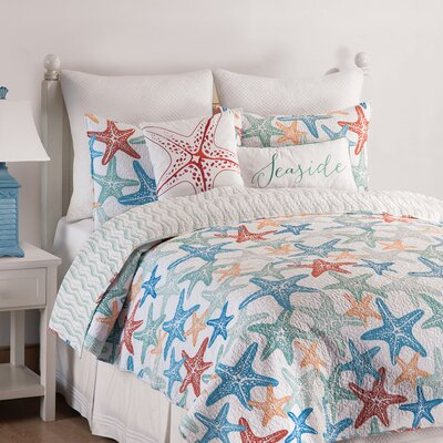 Kalani Reversible Quilt Set Size: King