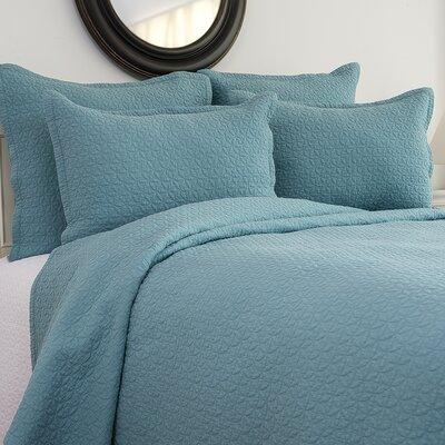 Manchester Aegean Reversible Quilt Set Size: Full/Queen