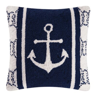Sailors Bay Hooked Throw Pillow