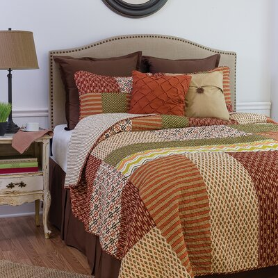 Santa Ana Reversible Quilt Set Size: King