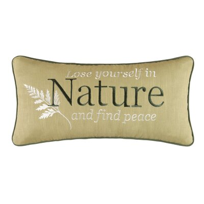 Rosalinda Atlhea Cotton Lumbar Pillow