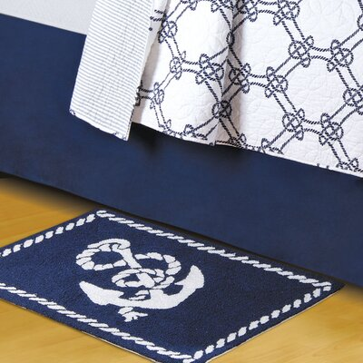 Knotty Buoy Blue Area Rug :