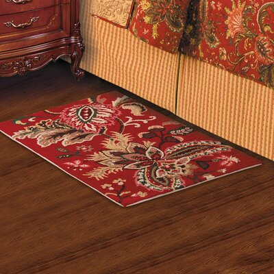 Constantine Red Area Rug Rug Size: Rectangle 2 x 3