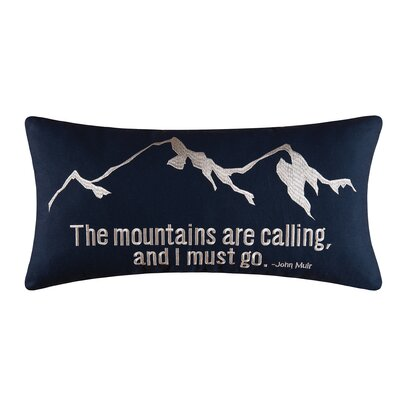 Mountains Are Calling Pillow