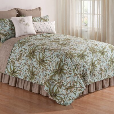 Farah Coastal Quilt Size: Full/Queen