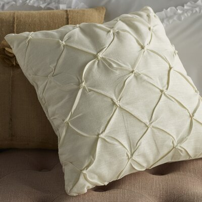 Sami Throw Pillow Color: Off White