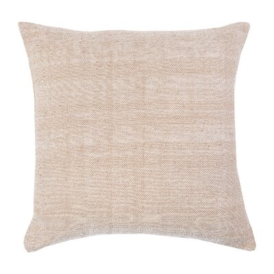 Chambray Indoor/Outdoor Throw Pillow Color: Dune