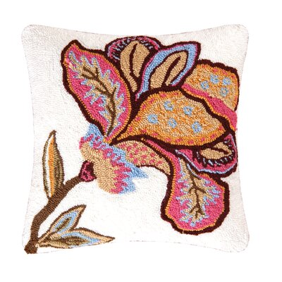 Fleming Flower Throw Pillow