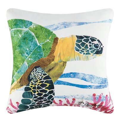 Sea Turtle Indoor/Outdoor Throw Pillow