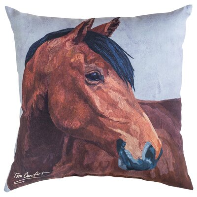 BayHorse Indoor/Outdoor Throw Pillow