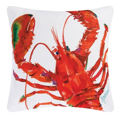Lobster Indoor/Outdoor Throw Pillow