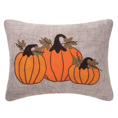 Pumpkin Bunch Lumbar Pillow