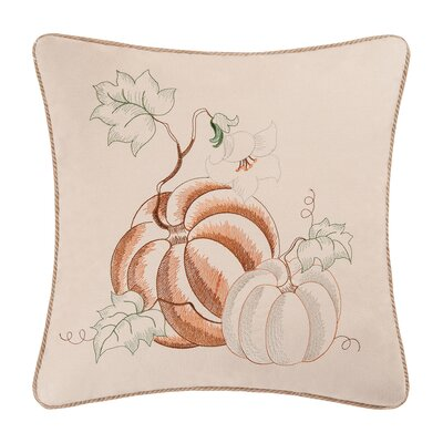 Pumpkins 100% Cotton Throw Pillow