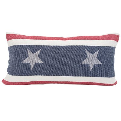 Stars and Stripes 100% Cotton Lumbar Pillow