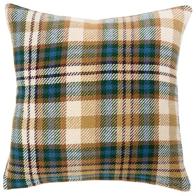 Karie Plaid 100% Cotton Throw Pillow