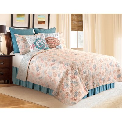 Brazeal Quilt/Coverlet Set Size: Full/Queen
