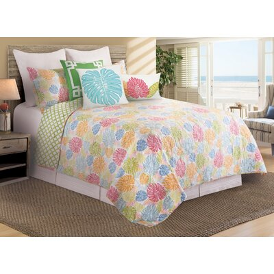 Docia Quilt/Coverlet Set Size: King