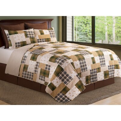 Kingsley Quilt/Coverlet Set Size: Twin
