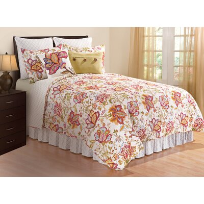 Fleming Quilt/Coverlet Set Size: King