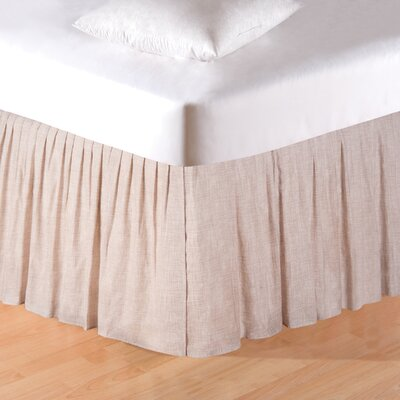 Madisonburg Bed Skirt Size: Queen