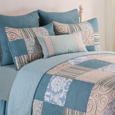Mahaffey Reversible Quilt Set Size: Twin