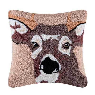 Tonto In the Woods Deer Throw Pillow