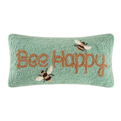Arendtsville Bee Happy Lumbar Pillow
