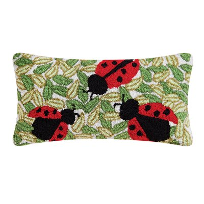 Arista Lady Bugs Lumbar Pillow