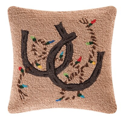 Holiday Rodeo Throw Pillow