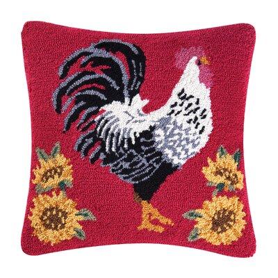 Izzo Parisian Rooster Throw Pillow
