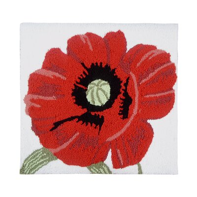 Ivery Poppy Throw Pillow