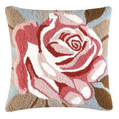 Ivey Rose Throw Pillow