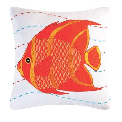 Fairlady Fish Cotton Throw Pillow