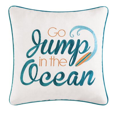 Zareen Jump Cotton Throw Pillow