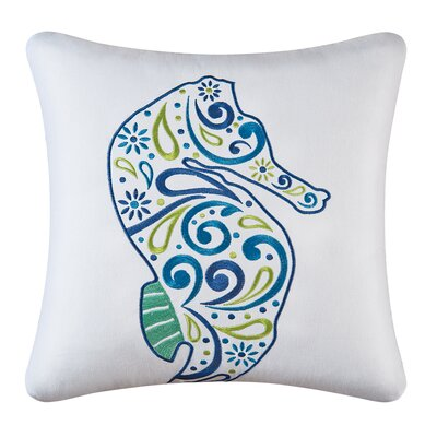 Danise Zipper Cotton Throw Pillow