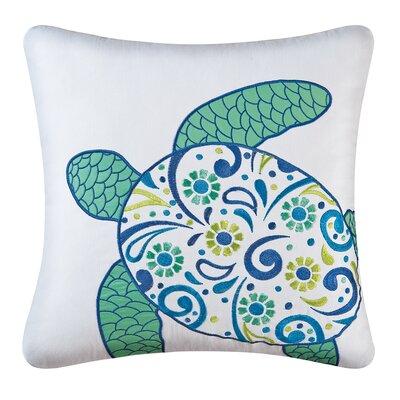 Danise Turtle Cotton Throw Pillow