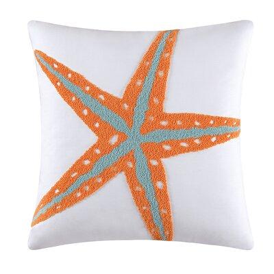 Akini Starfish Cotton Throw Pillow
