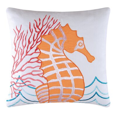 Tiffani Square Cotton Throw Pillow